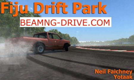 Скачать мод карта Fuji Drift Park для BeamNG Drive