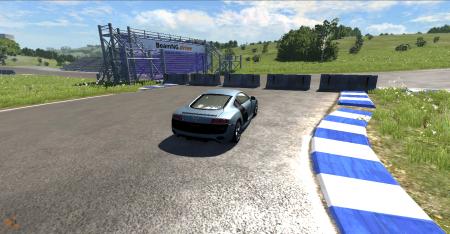 Скачать мод машину Audi R8 для BeamNG Drive