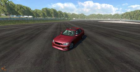 Скачать мод машину Toyota Altezza для BeamNG Drive