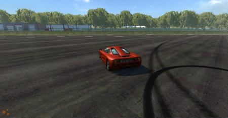 Скачать мод машину McLaren F1 для BeamNG Drive