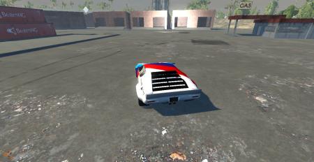 Скачать мод машина 1972 Detomaso Pantera для BeamNG Drive