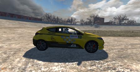 Скачать мод машину Renault Megan RS для BeamNG Drive