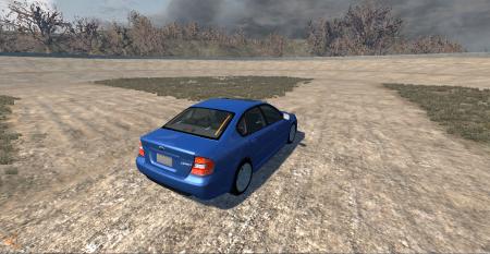 Скачать мод Subaru для BeamNG Drive