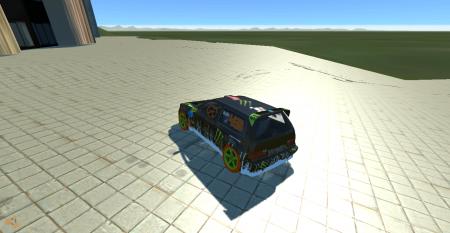 Скачать мод машину Gymkhana 3 Covet для BeamNG Drive