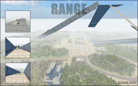 Скачать мод карта Range для BeamNG Drive