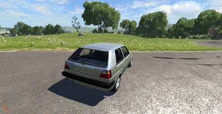 Скачать мод машину Volkswagen Golf для BeamNG Drive