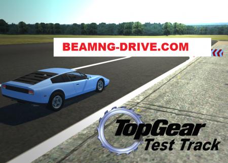 Скачать мод карта Top Gear Track для BeamNG Drive