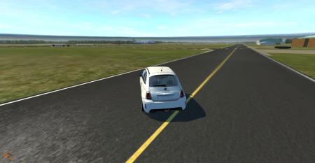 Скачать мод машину FIAT 500 Abarth для BeamNG Drive