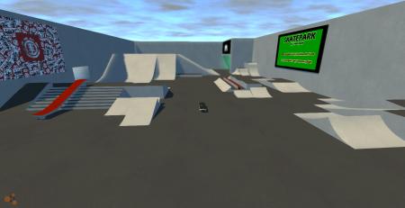 Скачать мод Скейтборд для BeamNG Drive