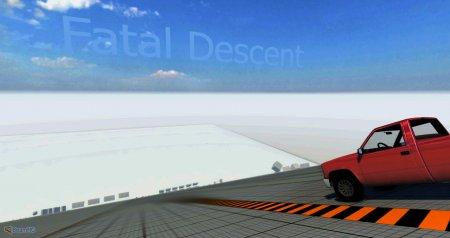 Скачать мод карта Fatal Descent для BeamNG Drive