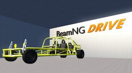 Скачать мод Rail Buggy для BeamNG Drive