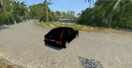Скачать мод ВАЗ 2113 для BeamNG Drive