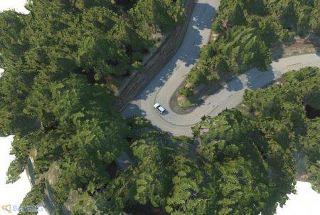 Скачать мод карта Ebisu Touge для BeamNG Drive