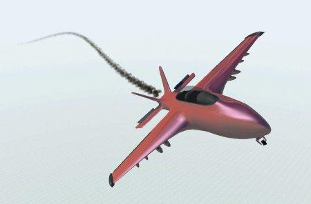 Скачать мод самолет X18 Fighter Jet для BeamNG Drive