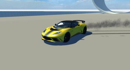 Скачать мод машину Lotus Evora GTE для BeamNG Drive