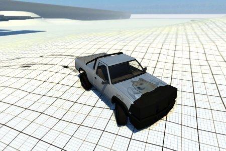 Скачать мод машину Pickup DeathMachine для BeamNG Drive