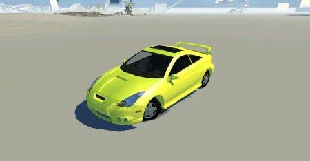 Скачать мод Toyota Celica TRD для BeamNG Drive