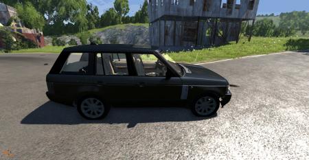 Скачать мод Range Rover для BeamNG Drive