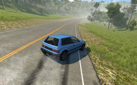 Карта Valley Roads and Mountains для BeamNG Drive
