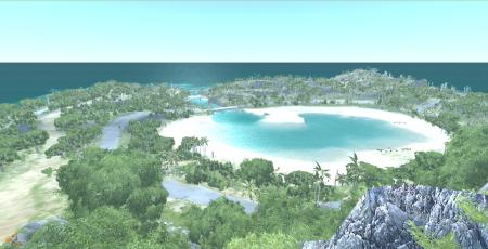 Скачать мод карта Paradise Island для BeamNG Drive