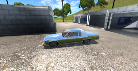Скачать мод Cadillac Deville для BeamNG Drive