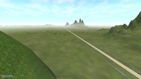 Скачать мод карта Straightline Track для BeamNG Drive