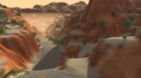 Скачать мод карта Canyon для BeamNG Drive