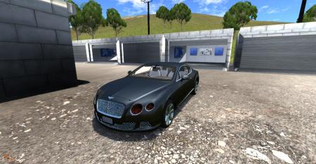 Скачать мод Bentley Continental GT для BeamNG Drive
