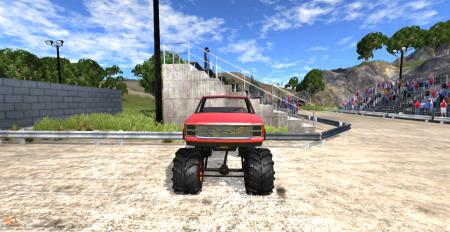 Скачать мод Monster Truck для BeamNG Drive