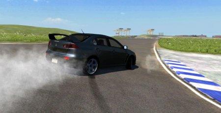 Скачать мод Mitsubishi Lancer Evolution X для BeamNG Drive