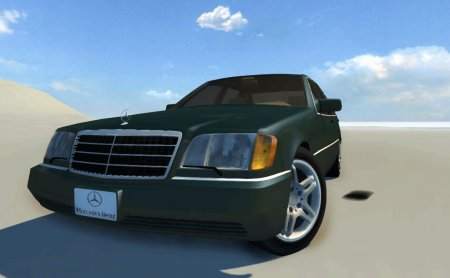 Скачать мод Mercedes Benz S600 AMG для BeamNG Drive