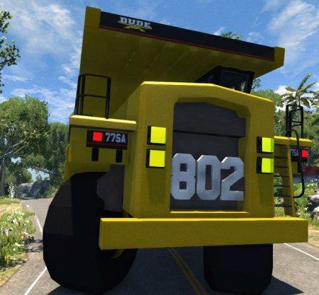Скачать грузовик Dumper Minero для BeamNG Drive