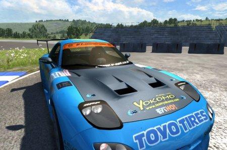 Скачать мод Mazda RX7 Drift для BeamNG Drive