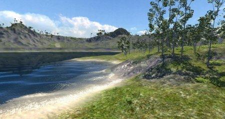 Скачать карту Mountains для BeamNG Drive