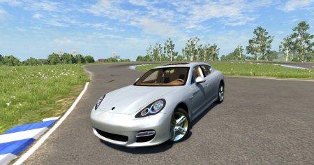 Скачать мод Porsche Panamera для BeamNG Drive