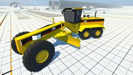 Скачать мод машина BKL CAT Grader для BeamNG Drive