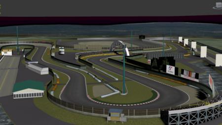 Скачать мод карта Tsukuba Circuit для BeamNG Drive