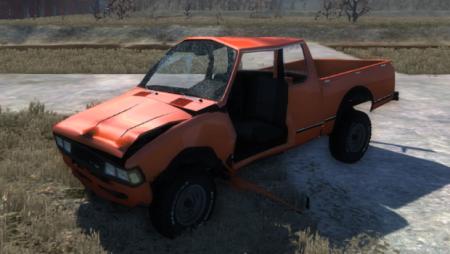 Скачать мод 1981 Datsun 720 King Cab для BeamNG Drive