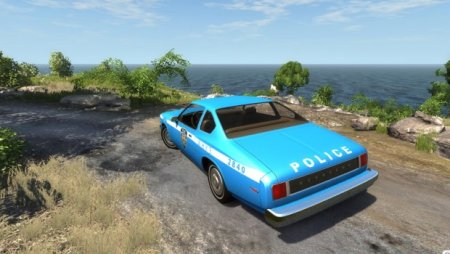 MoonHawk 1970′s New York Police Skin для BeamNG Drive