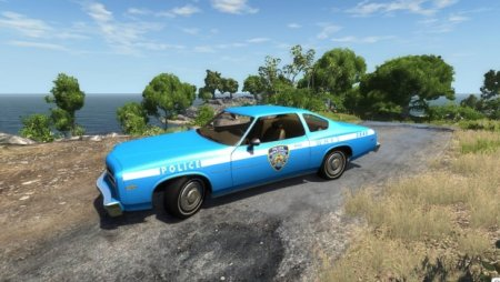 Скачать мод MoonHawk 1970′s New York Police Skin для BeamNG Drive