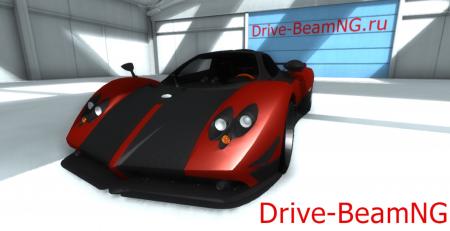 Скачать мод машина «Pagani Zonda Cinque Roadster 2009» для BeamNG Drive