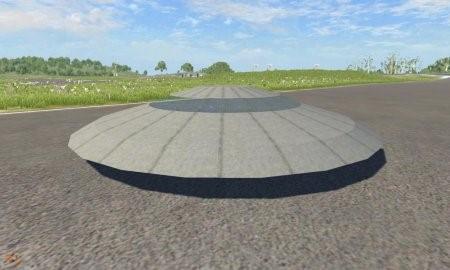 Скачать мод BKL flying Saucer для BeamNG Drive