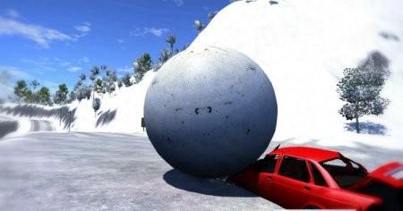 Скачать мод DSC Ball для BeamNG Drive
