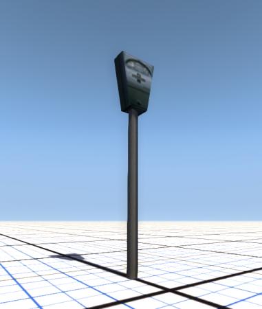 Скачать мод Parking meter для BeamNG Drive