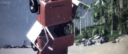 Скачать мод карта Dry Rock Island — Rain Mod для BeamNG Drive