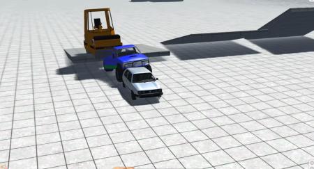 Скачать мод машина Caterpillar BKL Steam Roller для BeamNG Drive