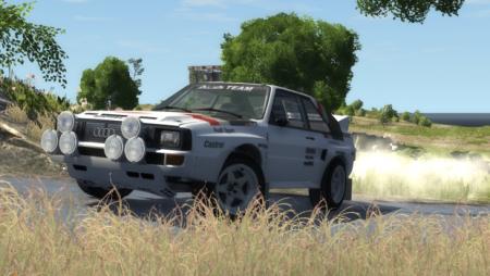 Скачать мод Audi Sport quattro B2 для BeamNG Drive