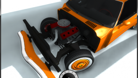 Скачать мод Moonhawk Super Bee для BeamNG Drive