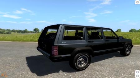 Скачать мод Jeep Cherokee 1984 для BeamNG Drive