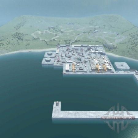 Скачать мод карта Location Industrial для BeamNG Drive
